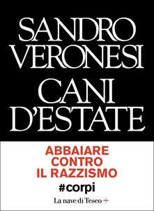 Cani d'estate #corpi - Sandro Veronesi - copertina