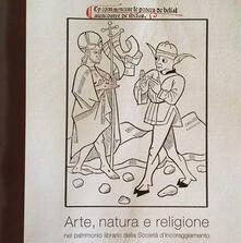 Arte, natura e religione nel patrimonio librario della società d'Incoraggiamento - copertina