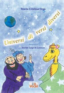 Universi di versi diversi - M. Cristina Orga - copertina