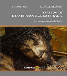 I crocifissi di frate Umile e frate Innocenzo da Petralia - Giuseppe Fazio - copertina