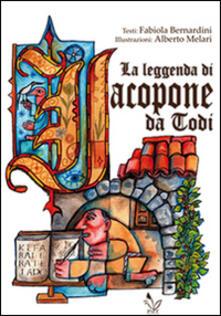 La leggenda di Jacopone da Todi - Fabiola Bernardini - copertina