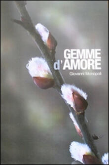 Gemme d'amore - Giovanni Monopoli - copertina