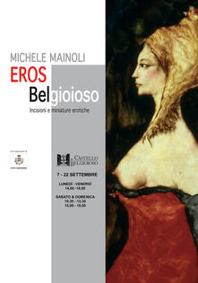 Eros Belgioioso. Incisioni e miniature erotiche. Ediz. illustrata - Michele Mainoli - copertina