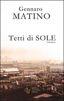 Tetti di sole - Gennaro Matino - copertina