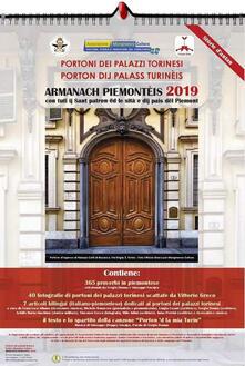 Librisulladiversita.it Almanacco piemontese-Armanach piemonteis (2019). Portoni dei palazzi torinesi-Porton dij palass turinèis Image