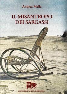 Il misantropo dei Sargassi - Andrea Mella - copertina
