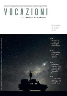 Vocazioni (2019). Vol. 2: Poco meno di un Dio (Marzo-Aprile). - copertina