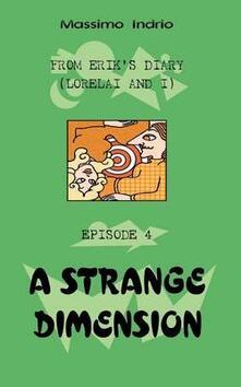 A Strange dimension - Massimo Indrio - copertina