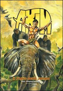 Akim il figlio della jungla - Roberto Renzi - copertina