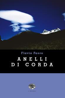 Anelli di corda - Flavio Faoro - copertina