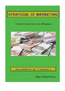 Strategie di marketing - Diego C. Presicce - copertina