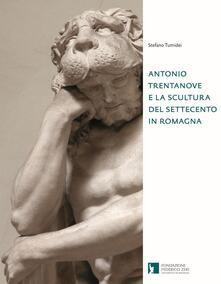 Antonio Trentanove e la scultura del Settecento in Romagna - Stefano Tumidei - copertina