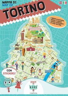 Winniearcher.com Mappa di Torino illustrata Image