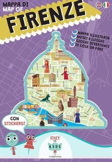 Mappa di Firenze illustrata. Ediz. italiana e inglese - copertina