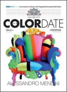 Color date (2014). Ediz. speciale Premio Cauda Pavonis. Ediz. multilingue. Vol. 3 - copertina