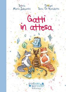 Gatti in attesa - Maria Zamparino - copertina