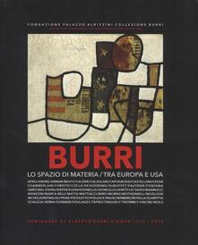 Burri. Lo spazio di materia. Tra Europa e USA - copertina