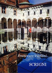 Scrigni - Francesco Vitellini - copertina