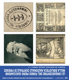 Le cinquecentine del fondo Piero Guicciardini nella Biblioteca Nazionale Centrale di Firenze - copertina