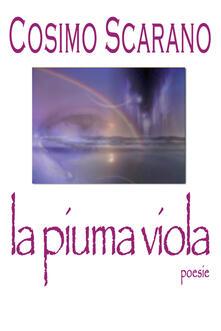 La piuma viola - Cosimo Scarano - copertina