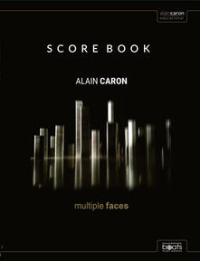 Antondemarirreguera.es Multiple faces scoreBook. Authentic score for bass, guitar, and keyboards in standard notation Image