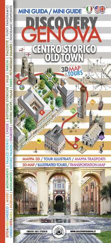 Discovery Genova. Centro storico-Old town - Andrei-Dan Dalmazio - copertina