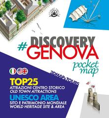 Discovery Genova. Pocket map. Ediz. italiana e inglese - Andrei-Dan Dalmazio - copertina