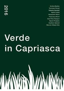 Verde in Capriasca - copertina