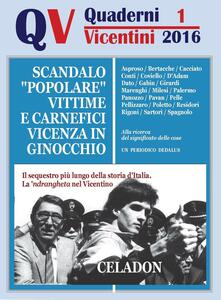 Quaderni vicentini. Vol. 1 - copertina