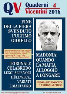 Quaderni vicentini . Vol. 4 - copertina