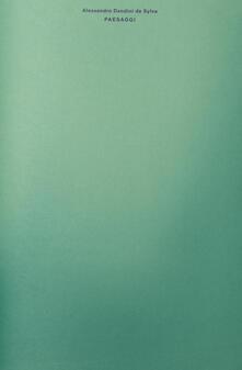Paesaggi - Alessandro Dandini de Sylva - copertina