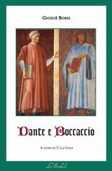Dante e Boccaccio - Giosuè Borsi - copertina