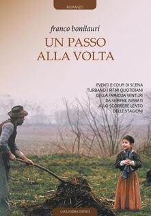 Un passo alla volta - Franco Bonilauri - copertina