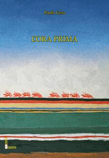 L' ora prima - Paolo Gera - copertina