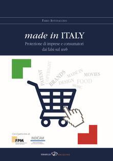 Premioquesti.it Made in Italy. Protezione di imprese e consumatori dai falsi sul web Image