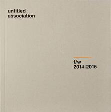 Untitled association f/w (2014-2015) - copertina