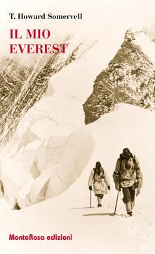 Il mio Everest - Theodore Howard Somervell - copertina
