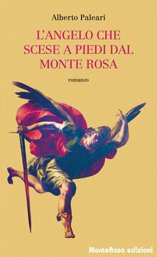 L' angelo che scese a piedi dal Monte Rosa - Alberto Paleari - copertina