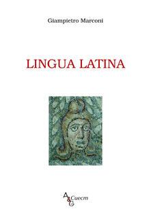 Lingua latina - Giampietro Marconi - copertina
