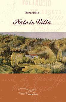 Nato in villa - Beppe Bisio - copertina
