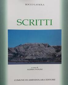 Scritti - Rocco Laviola - copertina