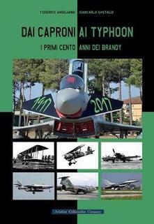 Dai Caproni ai Typhoon. I primi cento anni dei Brandy - Federico Anselmino,Giancarlo Gastaldi - copertina