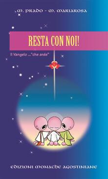 Resta con noi! - Prado Gonzales Heras - copertina
