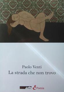La strada che non trovo - Paolo Venti - copertina