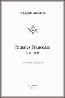 Rituales franceses (1740-1825). Ediz. francese e spagnola - copertina