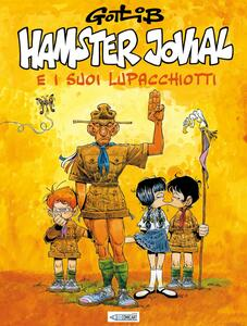 Hamster Jovial e i suoi lupacchiotti