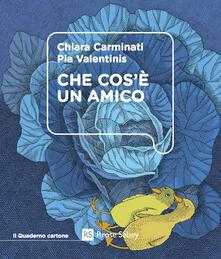 Che cos'è un amico - Chiara Carminati,Pia Valentinis - copertina
