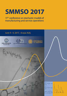 11th Conference on stochastic models of manufacturing and service operations (Acaya, 4-9 giugno 2017) - copertina
