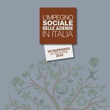 L' impegno sociale delle aziende in Italia. 7º rapporto di indagine 2016 - copertina