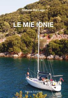 Le mie ionie - Stefano Dal Lago - copertina